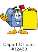 Mailbox Character Clipart #12439 by Toons4Biz