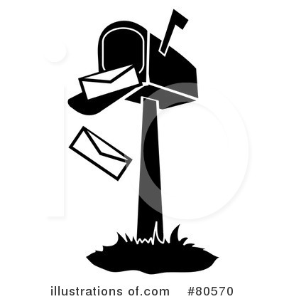 Mailbox Clipart #80570 - Illustration by Pams Clipart