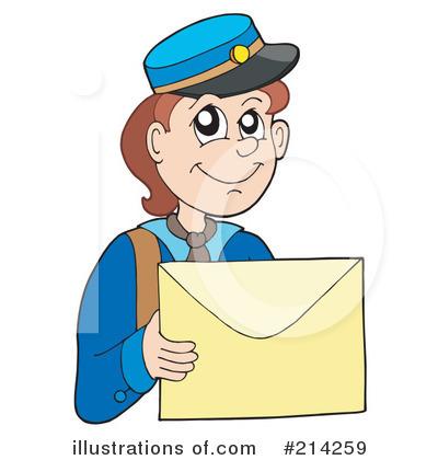 Clip Art Mailman Clipart mailman clipart 214259 illustration by visekart royalty free rf visekart