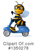 Male Bee Clipart #1350278 by Julos