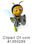 Male Bee Clipart #1350289 by Julos