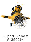 Male Bee Clipart #1350294 by Julos