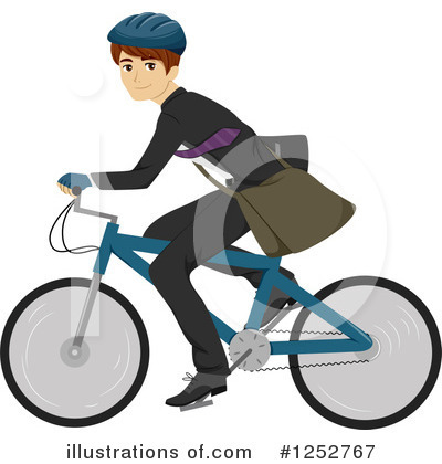 Bicycle Clipart #1252767 by BNP Design Studio