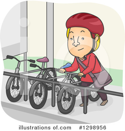 Bicycle Clipart #1298956 by BNP Design Studio