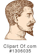 Man Clipart #1306035 by patrimonio