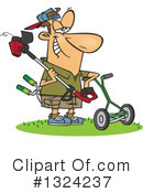 Man Clipart #1324237 by toonaday