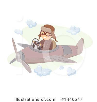 Airplane Clipart #1446547 by BNP Design Studio