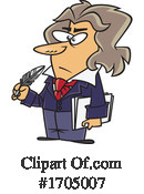 Man Clipart #1705007 by toonaday