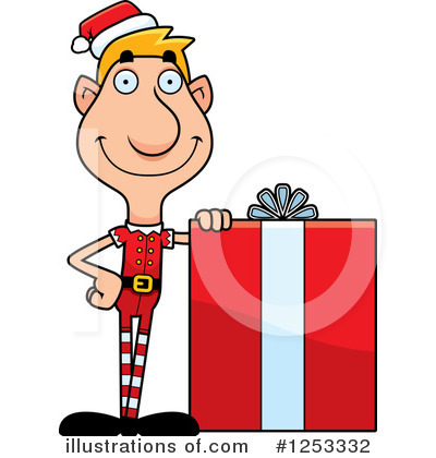 Elf Clipart #1253332 by Cory Thoman