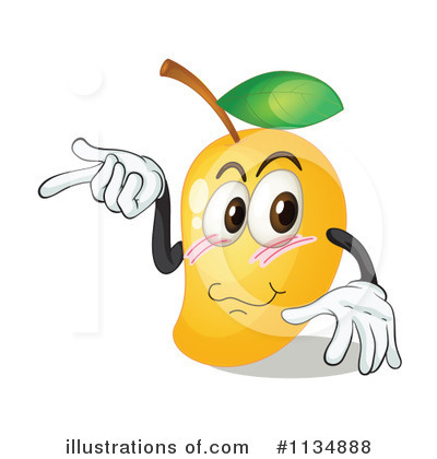Mango Clipart #1134888 - Illustration by colematt