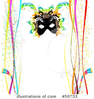 Royalty-Free (RF) Mardi Gras Clipart Illustration by MacX - Stock Sample #50733