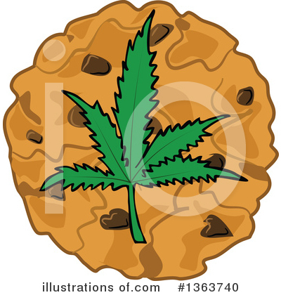 Marijuana Clipart #1363740 by djart
