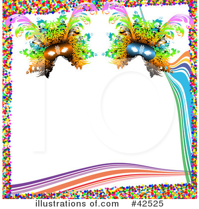 Mardi Gras Clipart #42525 by MacX