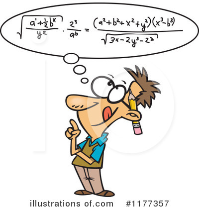 Math Clipart #1177357 by toonaday