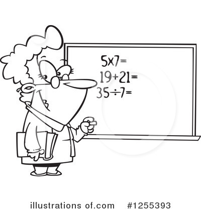 Math Clipart #1255393 by toonaday