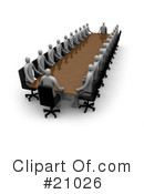 Meeting Clipart #21026 by 3poD