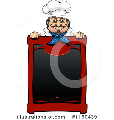 Chef Clipart #1160439 by Vector Tradition SM