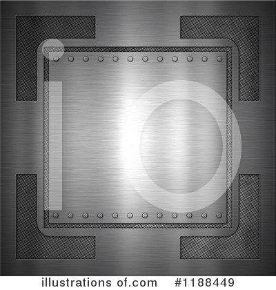 Metal Background Clipart #1188449 by KJ Pargeter
