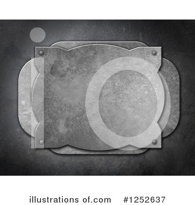 Metal Background Clipart #1252637 by KJ Pargeter