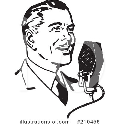 Microphone Clipart #210456 - Illustration by BestVector