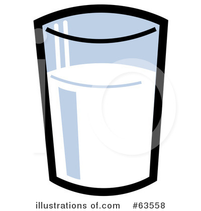 milk clipart 63558 illustration by andy nortnik rh illustrationsof com glass of milk clipart png glass of milk clipart black and white