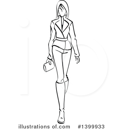Model Clipart #1399933 by Vector Tradition SM