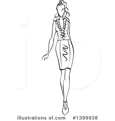 Fashion Clipart #1399938 by Vector Tradition SM