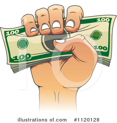 Money Clipart #1120128 by Vector Tradition SM