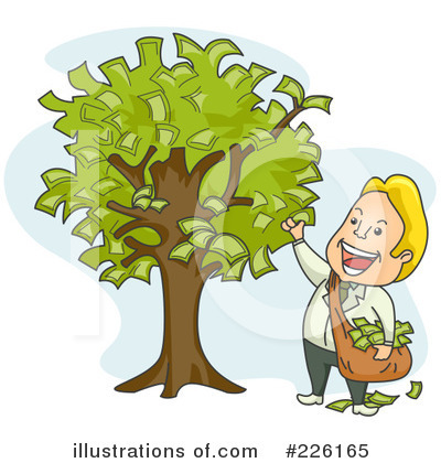 Money Tree Clipart #226165 by BNP Design Studio