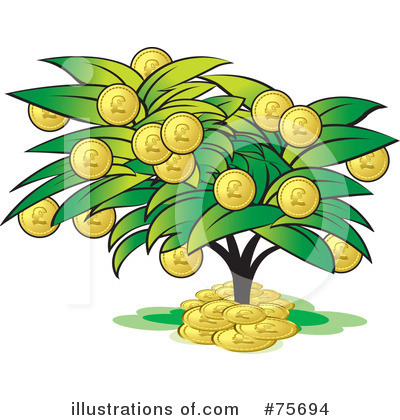 Money Tree Clipart #75694 by Lal Perera