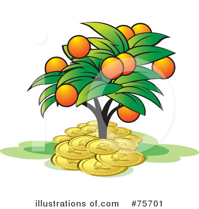 Money Tree Clipart #75701 by Lal Perera