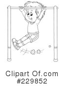 Monkey Bars Clipart #229851 - Illustration by Alex Bannykh