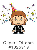 Monkey Clipart #1325919 by Cory Thoman