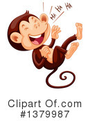 Monkey Clipart #1379987 by Graphics RF