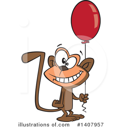 Birthday Clipart #1407957 by toonaday