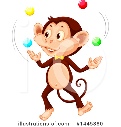 Monkey Clipart #1445860 by Graphics RF