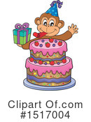 Monkey Clipart #1517004 by visekart