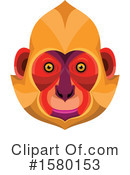 Monkey Clipart #1580153 by patrimonio