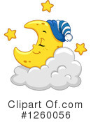 Moon Clipart #1260056 by BNP Design Studio
