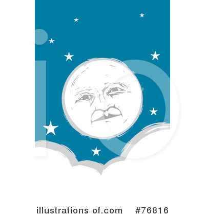 Moon Clipart #76816 by xunantunich