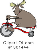 Moose Clipart #1361444 by djart