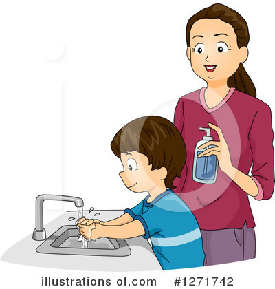 Hand Washing Clipart #1271742 by BNP Design Studio