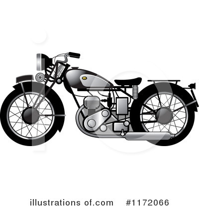 Motorcycle Clipart #1172066 by Lal Perera