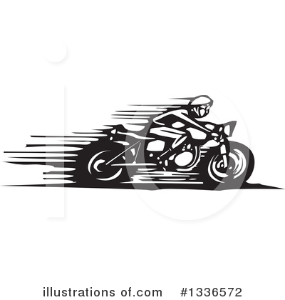 Motorcycle Clipart #1336572 by xunantunich