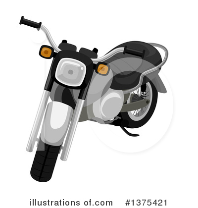 Motorcycle Clipart #1375421 by BNP Design Studio