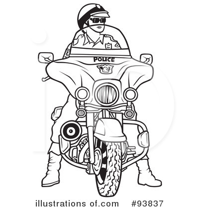Motorcycle Clipart #93837 - Illustration by dero