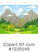 Mountain Clipart #1235049 by BNP Design Studio