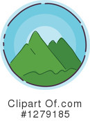 Mountains Clipart #1279185 by BNP Design Studio
