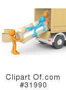 Movers Clipart #31990 by 3poD