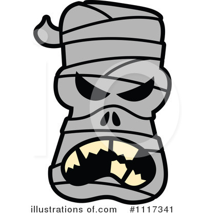 Mummy Clipart #1117341 - Illustration by Zooco